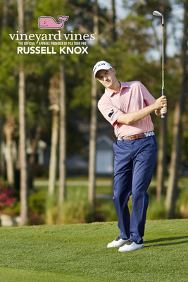 vineyard vines(R) Announces Sponsorship Deal with PGA Tour Pro Russell Knox