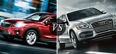Ingram Park Mazda Weighs The Strengths Between 2015 Mazda CX 5 And 2015  Audi SQ5
