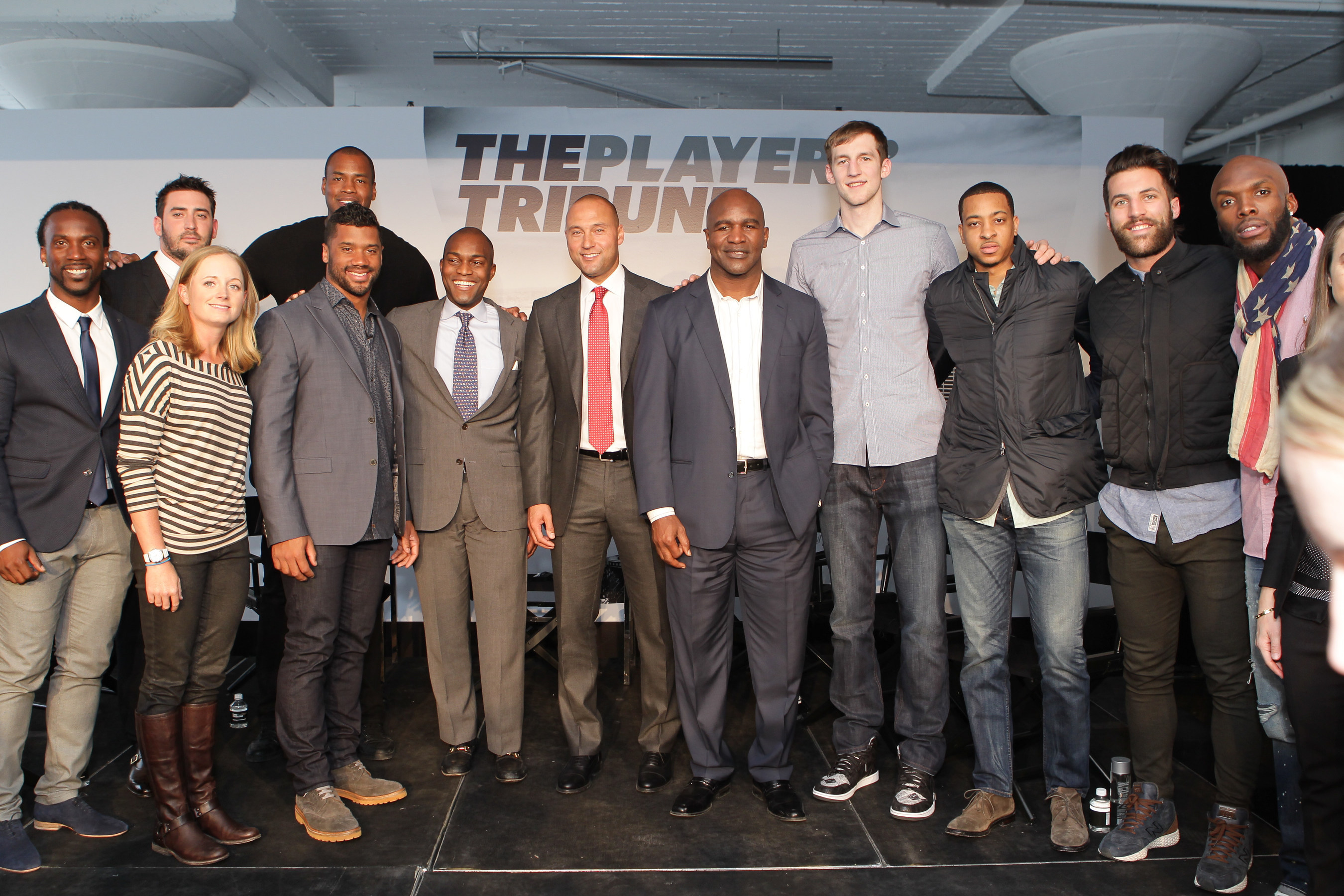 Derek Jeter, Russell Wilson, Evander Holyfield, Matt Harvey and Other Contributors Present The Next Evolution Of The Players' Tribune
