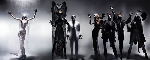 Unveiled today, âeuro˜Blackâeuro(TM) by Nick Knight was commissioned by American Express and features previously unseen images from backstage at the American Express: McQueen Black Event, curated by Alexander McQueen in 2004 (PRNewsFoto/MHP Communication)
