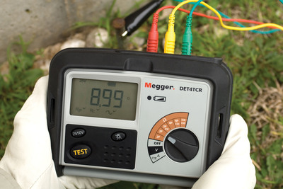 Enhanced Four-terminal Earth/Ground Resistance Testers from Megger Offer Flexibility.  (PRNewsFoto/Megger)