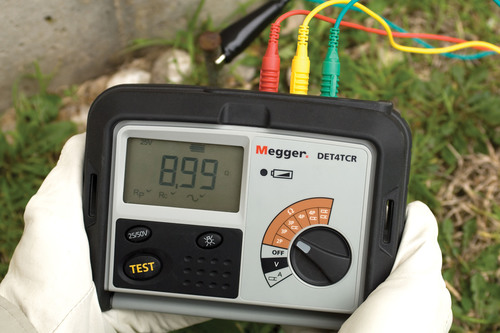 Enhanced Four-terminal Earth/Ground Resistance Testers from Megger Offer Flexibility