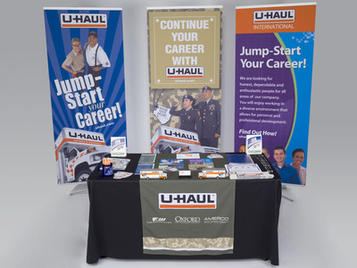 U-Haul International, Inc., Takes No. 13 Rank Out of 100 Companies in the 2014 Military Friendly Employer Ranking.  (PRNewsFoto/U-Haul)