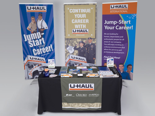 U-Haul International, Inc., Takes No. 13 Rank Out of 100 Companies in the 2014 Military Friendly Employer Ranking.  (PRNewsFoto/U-Haul)