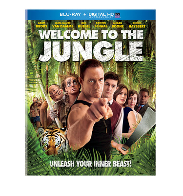 From Universal Studios Home Entertainment: Welcome to the Jungle.  (PRNewsFoto/Universal Studios Home Entertainment)