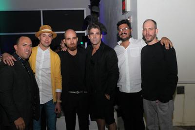 Walter Otero, Angel Otero, Luis Vidal, Carlos Betancourt, Michael Linares and Ignacio Lang.  (PRNewsFoto/Walter Otero Contemporary Art)