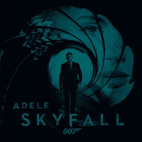 "Adele's ""Skyfall"", Official Theme Song To Latest James Bond 007 Feature SKYFALL(TM), Globally Available On iTunes Now.  (PRNewsFoto/Columbia Records)"