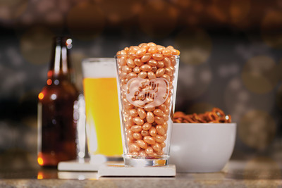 "A ""draft beer"" jelly bean was released by Jelly Belly Candy Company. Styled after a hefeweizen ale, Jelly Belly food scientists spent three years in flavor development to create the non-alcoholic jelly bean.  (PRNewsFoto/Jelly Belly Candy Company)"