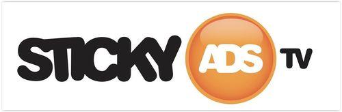 StickyADS.tv Logo (PRNewsFoto/StickyADS_tv)