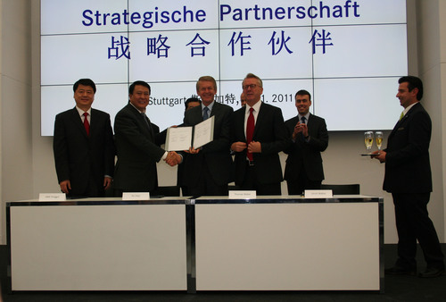 Daimler and BAIC Sign Letter of Intent to Further Deepen Strategic ...