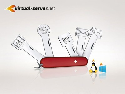 virtual-server.net: Whatever server you need - we have it! (PRNewsFoto/Backbone Solutions AG)
