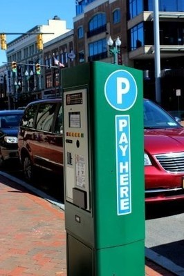 Cale CWT Pay Station in Schenectady (PRNewsFoto/Cale America Inc.)