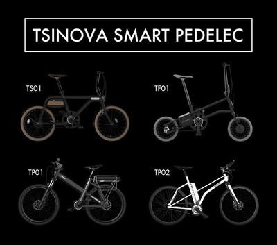 TSINOVA Smart Pedelec: combining good design with high technology