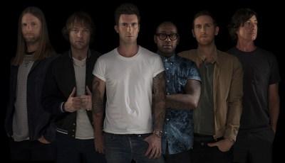 MAROON 5 ANNOUNCE WORLD TOUR KICKING OFF FEBRUARY 2015 (PRNewsFoto/Live Nation)