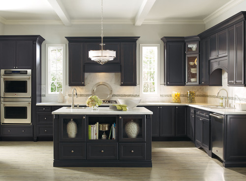 Thomasville cabinetry receives top honors in j d power for Study room wall cabinets