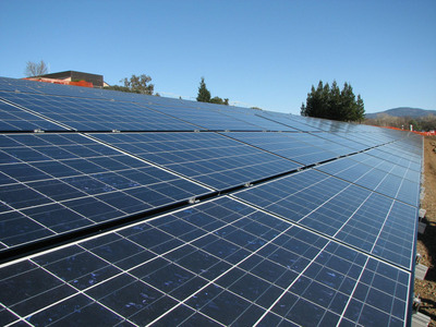 California's Butte College Becomes the First College in the Nation to Be Grid Positive. (PRNewsFoto/Butte College)