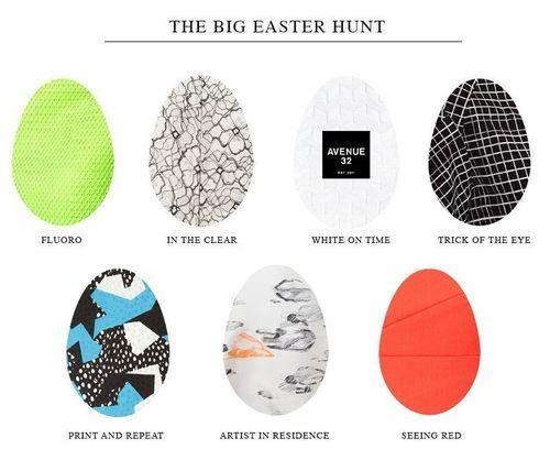 Avenue 32 Easter Egg Hunt Competition (PRNewsFoto/AVENUE 32)
