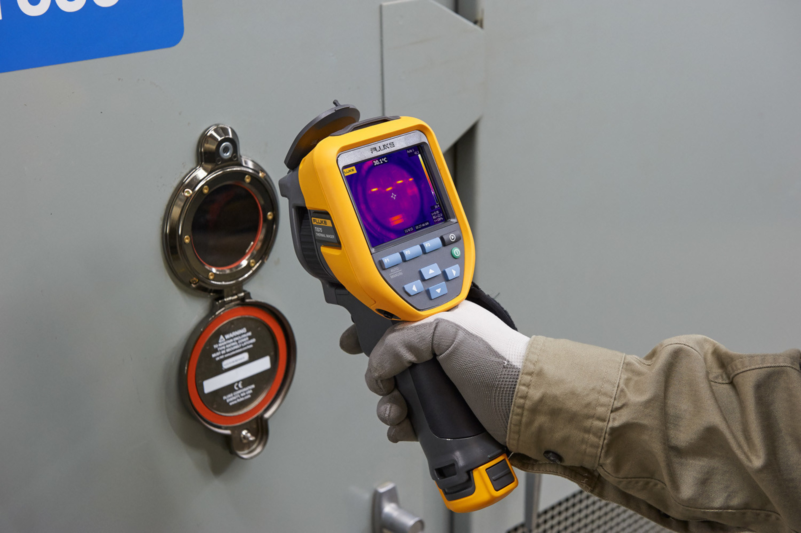 Fluke TiS75 Infrared Camera picks up small details to quickly identify and resolve issues with equipment