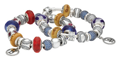 PANDORA Jewelry and Major League Baseball Properties Form a New Relationship.  (PRNewsFoto/PANDORA Jewelry)