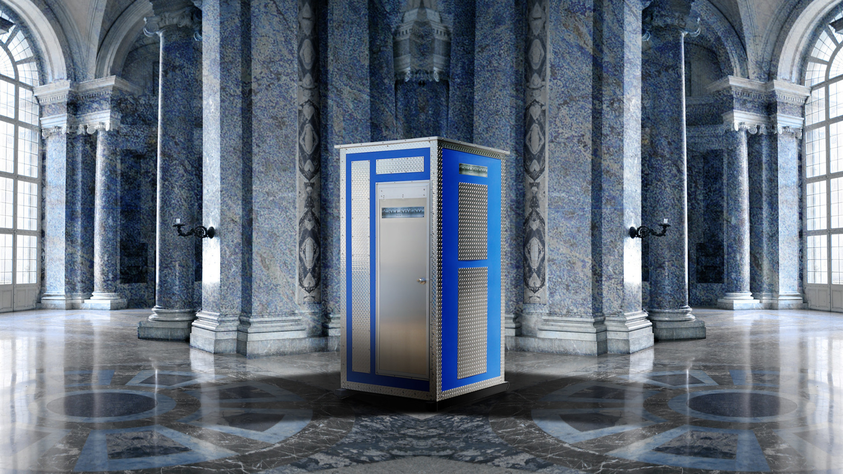 'The Waterloo' Portable Toilet by Callahead