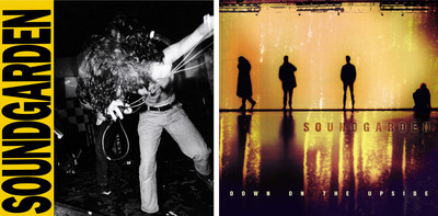 SOUNDGARDEN'S LOUDER THAN LOVE LP AND 20TH ANNIVERSARY DOUBLE LP VINYL EDITION OF DOWN ON THE UPSIDE TO BE RELEASED ON AUGUST 26 BY UMe; Two seminal albums to be released on 180-gram vinyl, with original artwork