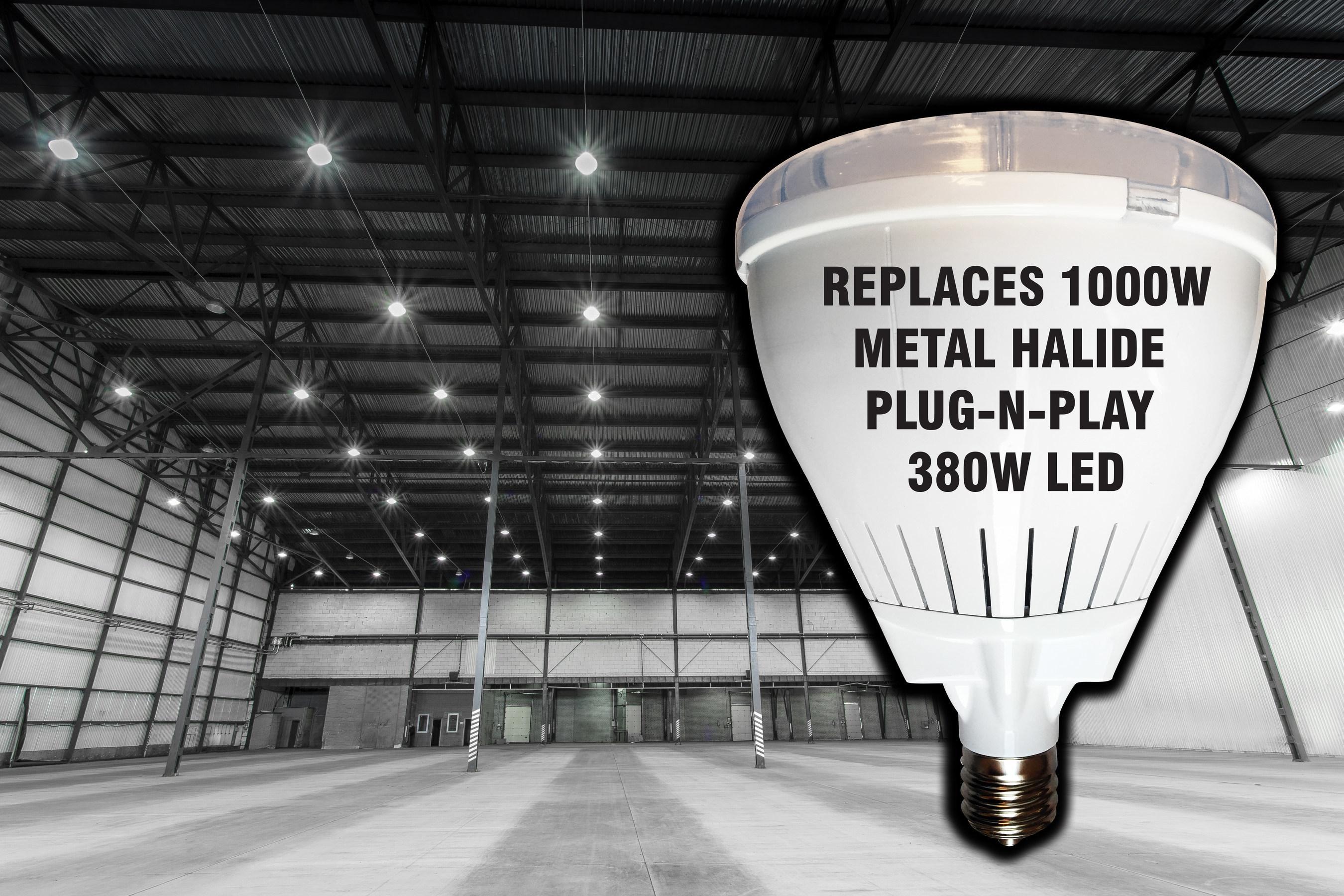 """1000 Watt Metal Halide Led Replacement plug-n-play"""" direct-replacement led for 1000w metal halide"""
