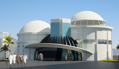 """J/Brice Design International, Inc. - based in Boston and Dammam Kingdom of Saudi Arabia - has been commissioned by Saudi Arabia's Fakieh Group to design the interior of a new Planetarium at its Al Shallal Theme Park in Jeddah. """"Unlike the USA, where planetariums are typically located within science museums and universities or as stand-alone educational institutions, the Fakieh Group is popularizing learning about the cosmos by bringing the planetarium to where people go for fun,"""" says Jeffrey Ornstein, CEO and founder of J/Brice Design (www.jbricedesign.com). (PRNewsFoto/J/Brice Design International, Inc.) (PRNewsFoto/J/BRICE DESIGN INTERNATIONAL)"""