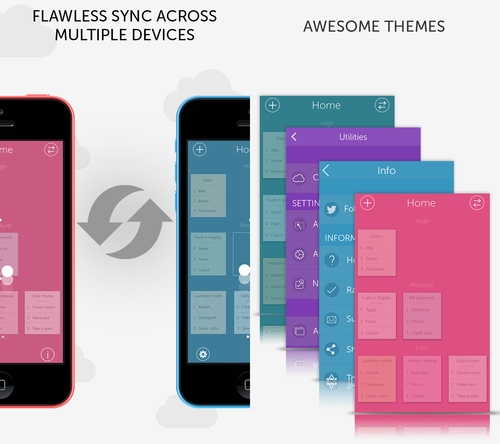 App allows users to sync across multiple devices. (PRNewsFoto/Tekton Technologies) (PRNewsFoto/TEKTON TECHNOLOGIES)