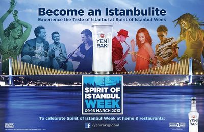 Experience the taste of Istanbul at Spirit of Istanbul Week by Yeni Raki