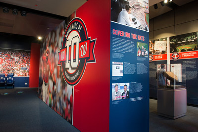 """Nationals at 10: Baseball Makes News"" is now open at the Newseum in Washington, D.C. (Maria Bryk)"