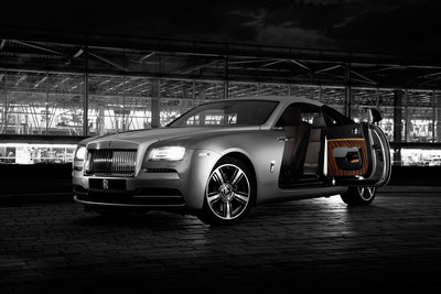 Rolls-Royce Wraith 'Inspired by Film' Makes its Debut at New York International Auto Show #RollsRoyceNYIAS