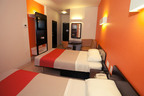 Motel 6 celebrates 50th Anniversary with renovated, stylish, eco-friendly rooms.  (PRNewsFoto/Motel 6)