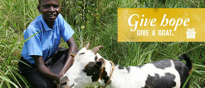 Symbolic gifts for any age. This holiday season Mercy Corps offers an array of creative gifts, beautiful cards, and help for families in need around the world. Visit http://gifts.mercycorps.org/media to see the full selection of gifts.  (PRNewsFoto/Mercy Corps)