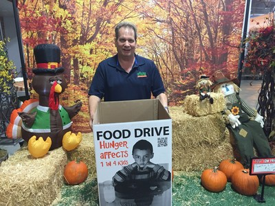 """Bob Miller Wholesale Manager at Arizona Flower Market heads up the annual """"Flowers for Food"""" donation drive to Benefit St Vincent de Paul"""