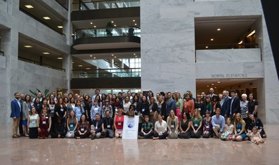 IBD patients and loved ones at CCFA's 14th annual IBD Day on the Hill