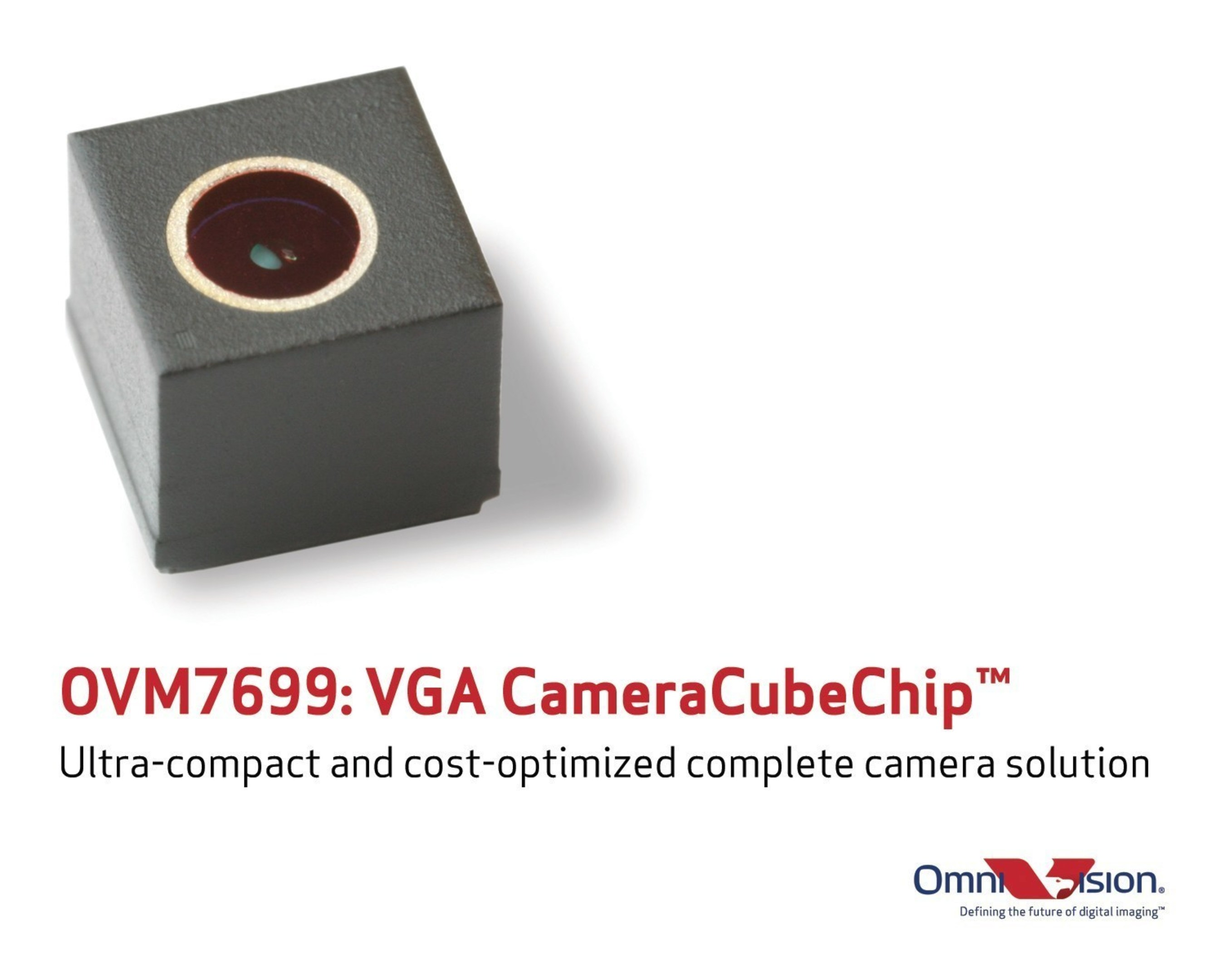 OmniVision's OVM7699: Ultra-compact and cost-optimized complete camera solution.