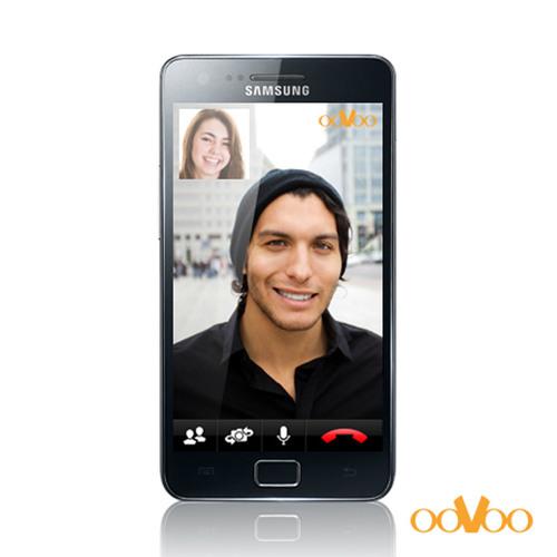 ooVoo Android app on Samsung Galaxy S II.  (PRNewsFoto/ooVoo)