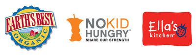 Earth's Best(R) and Ella's Kitchen(R) Partner with No Kid Hungry(R)