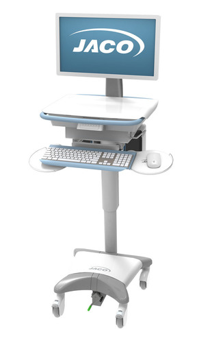 JACO UltraLite 320 Hot Swappable Power Computer Cart. (PRNewsFoto/JACO, Inc.) (PRNewsFoto/JACO, INC.)