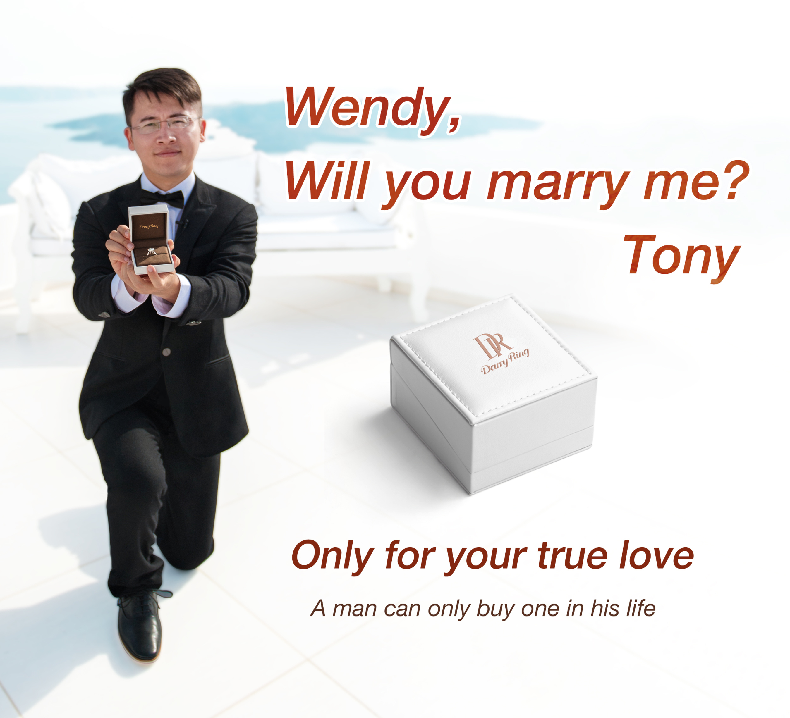 Darry Ring is a true expression of love - you can only own one in a lifetime