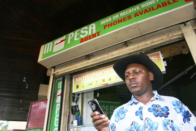 IBM is working with banks and telco providers to help bring financial services to the unbanked across Africa.  (PRNewsFoto/IBM)