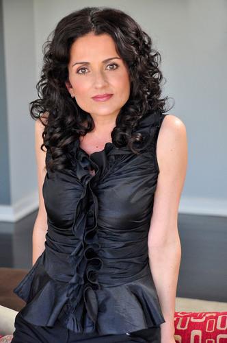 Jenni Pulos, the star of BravoTV's Flipping Out. Photo credit: Karen Bystedt. (PRNewsFoto/The Greek America Foundation, Karen Bystedt) (PRNewsFoto/THE GREEK AMERICA FOUNDATION)