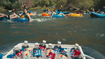 PEPSI QUENCHES CONSUMER THIRST FOR FUN WITH REAL. BIG. SUMMER. (PRNewsFoto/Pepsi)