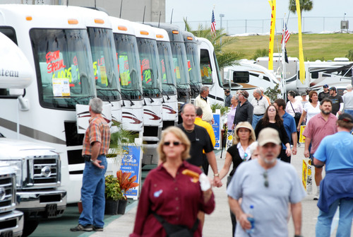 Florida RV SuperShow in Tampa, Florida brings in over 50,000 RV travelers every year.  This is the largest RV ...