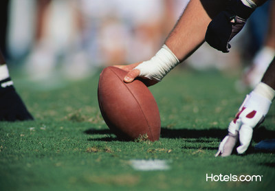 As the Phoenix-area prepares to host the biggest football game of the year, the travel experts at Hotels.com have compiled last-minute booking tips for fans who haven't yet reserved their hotel rooms