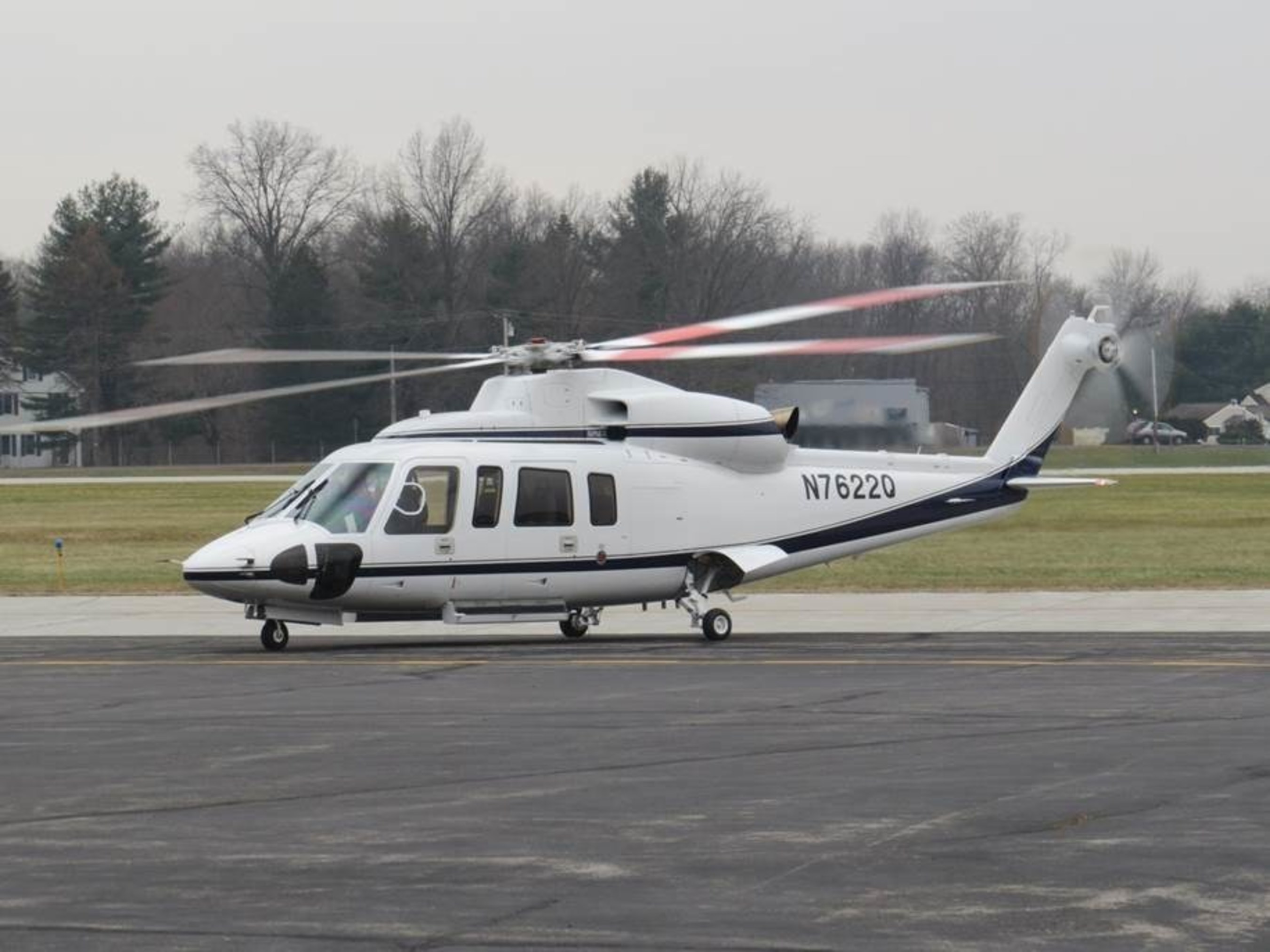 This Sikorsky S-76D helicopter will become the first to see service in Africa, operated by Titan Helicopter ...