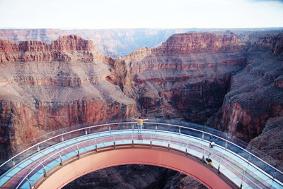 Grand Canyon Skywalk at Grand Canyon West - Where you walk can change your life.