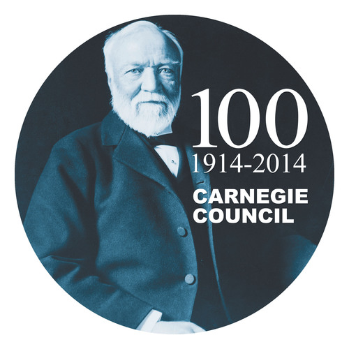 Carnegie Council Centennial 1914-2014.  (PRNewsFoto/Carnegie Council for Ethics in International Affairs)