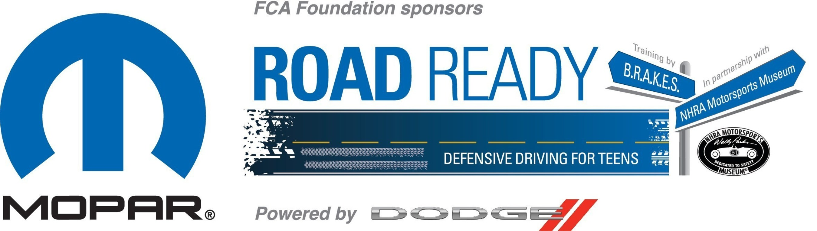 """Mopar Road Ready Powered by Dodge"" teen defensive driving program to make seven stops in 2015-2016"
