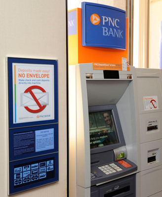 PNC Bank Upgrades 3,600 ATMs To Deposit Checks And Cash - Aug 28, 2013